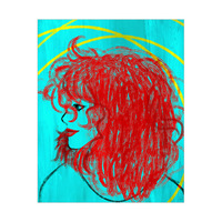 Beautiful Scarlet Curls