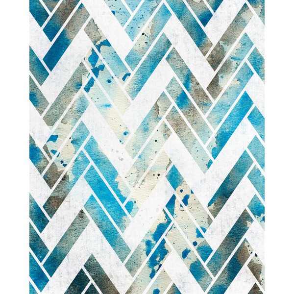 Lapis Lazuli Splash Weave