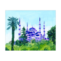 Sultan Ahmed Mosque Turkey Omega