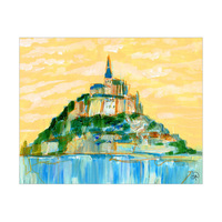 Mont Saint Michel Omega