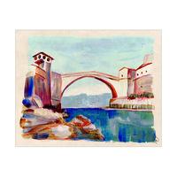 Mostar Bridge Bosnia Omega