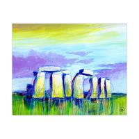 Stonehenge At Dusk Omega