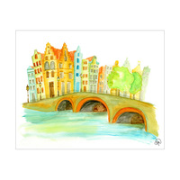 Bridge Over The Canal Omega