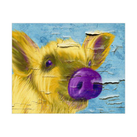 Purple Nosed Pig