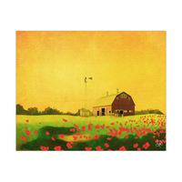 Forgotten Farm In The Field