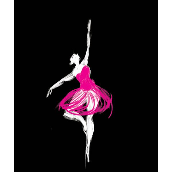 Magenta Ballerina