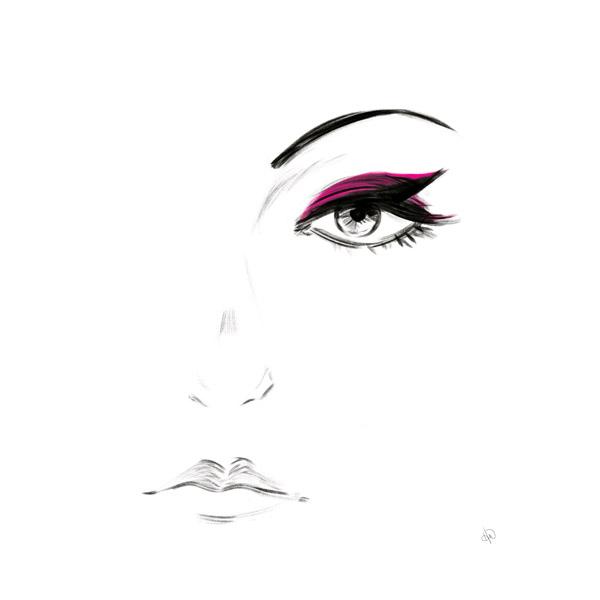 Magenta Eyeshadow