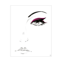Magenta Eyeshadow