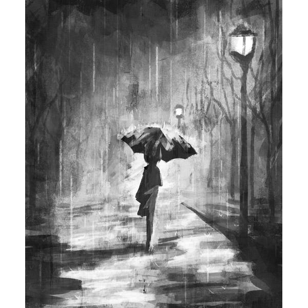 A Rainy Walk Noir