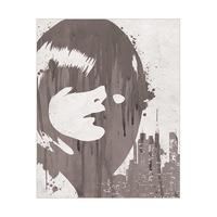 Drippy City Girl Grey