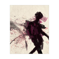 Shadow Figure Pink