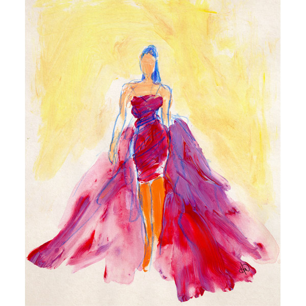 Flowing Dress Omega