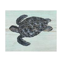 Rustic Sea Turtle Aquamarine
