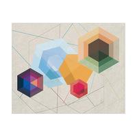 Amber Hexagonal Light