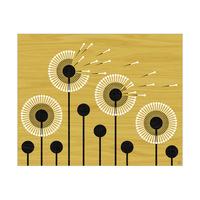 Retro Dandelion Yellow